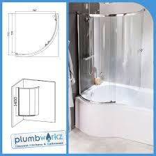 Sliding Bath Shower Screens Curved Shower Bath Screen Sliding Glass P Shape Shower Bath Screen