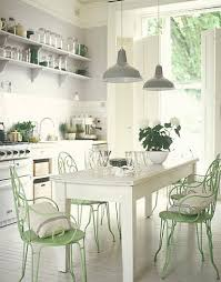 Cottage Chic Kitchen - cheap home decors shabby chic and vintage kitchens