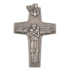 pectoral crosses for sale pectoral cross pope francis 11x7cm in metal online sales on