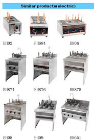 commercial used kitchen equipment electric 6kw 6 basket pasta