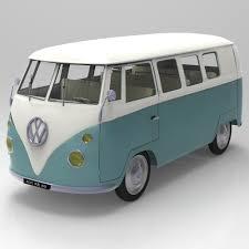 volkswagen kombi food truck volkswagen combi 3d model in suv 3dexport