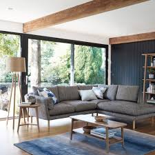 Living Room With Grey Corner Sofa Wooden Legs For Living Room Scandinavian With Grey Corner Sofa