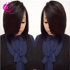 layered bob sew in hairstyles for black women for older women layered bob cut wigs virgin brazilian human hair lace front bob