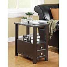 Skinny End Table Narrow End Table With Drawers Chest Of Drawers