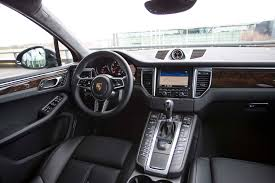 porsche inside 2015 porsche macan review automobile magazine