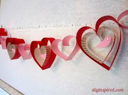 Valentine S Day Homemade Gift Ideas by Valentines Day Craft Diy Garland Diy Inspired