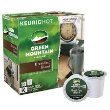 Blend K Cups Green Mountain Coffee Breakfast Blend 180 K Cup Pods