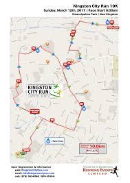 Map Of Kingston Jamaica Kingston City Run Come Run The City
