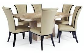attractive marble dining table set and dining table marble dining