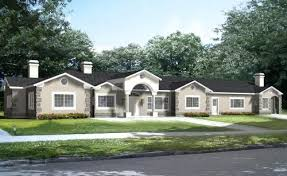 luxury style house plans 4180 square foot home 1 story 5