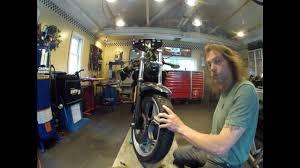 bmw service k 75 k1100 steering head bearing pre load youtube