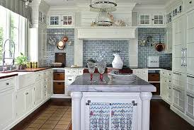 pretentious blue tile backsplash kitchen creative ideas cheap