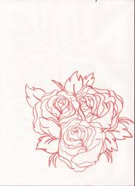 3 roses sketch by thatzombieguy on deviantart