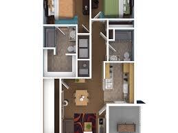 bedroom 60 25 more 2 bedroom 3d floor plans 5 a house floor