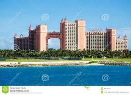 atlantis paradise island hotel and casino in nassau editorial