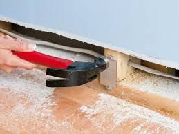how to hide wiring behind baseboard or install a raceway how tos drilling holes to run your wires