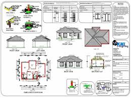stylish modern double storey house plans south africa house