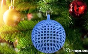 things of the week ornaments 3d printer
