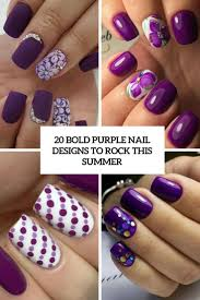 20 bold purple nails designs to rock this summer styleoholic