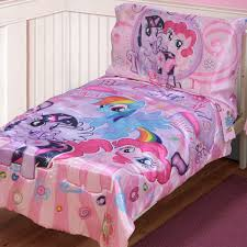 Spongebob Toddler Comforter Set by My Little Pony Satin Best Friends 4 Piece Toddler Bedding Set