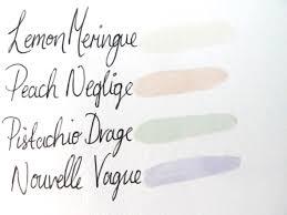 l u0027oreal paris color riche les blancs nail polish la belle