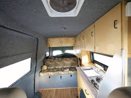 nissan nv2500 interior living on the road in a 25 foot office adventure journal
