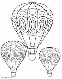 color sheets for kids air balloon coloring pages u2013 barriee