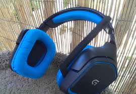 home theater headphones surround logitech g430 7 1 surround gaming headset review