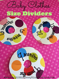 Baby Dividers Every Little Penny D I Y Baby Clothes Size Dividers From Gift Boxes