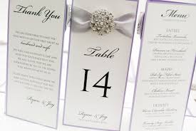 folded table place cards place cards menus table numbers invited in style
