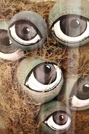 Halloween Eyeball Lights Best 25 Diy Halloween Eyeballs Ideas On Pinterest