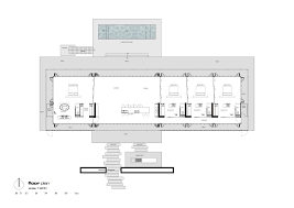 gallery of rooiels beach house elphick proome architects 36 floor plan
