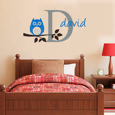 popular personalised owl wall sticker buy cheap personalised owl personalised owl wall sticker