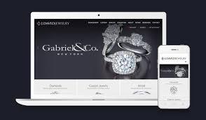 j david jewelry web design u0026 branding portfolio website