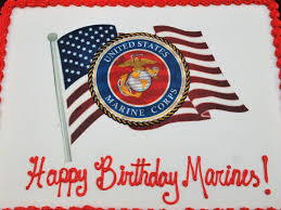 behind the badge orange pd hosts marine corps birthday party