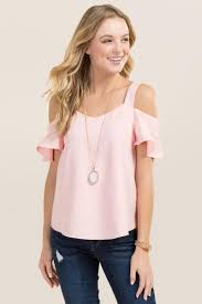 shoulder top fawn cold shoulder sweetheart top tops cold