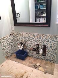 How To Remove Bathroom Vanity How To Remove An Bathroom Vanity Thrift Diving