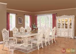 Dining Room Table And Hutch Sets by Blair Traditional Light Wood Formal Dining Set With Buffet And
