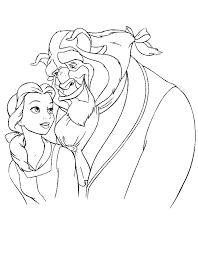 beauty beast coloring pages coloring pages print