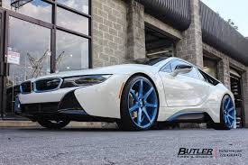 Bmw I8 With Rims - bmw i8 with 22in savini bm10 wheels exclusively from butler tires