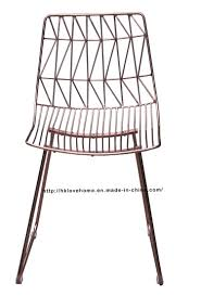 classic chair china modern classic restaurant metal dining bend side wire chair