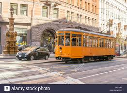 San Francisco Tram Map by Old Style San Francisco Tram Stock Photos U0026 Old Style San