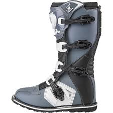 tech 10 motocross boots oneal rider motocross boots black white enduro boat quad mx 42 43