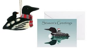 loon ornaments and greeting cards when is