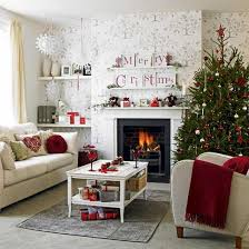 SofafireplaceandChristmasdecorationsforhome  Christmas