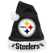 steelers halloween costume forever collectibles pittsburgh steelers santa hat