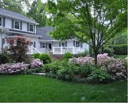 Landscape Mounds Front Yard - berms planting houzz