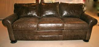 ethan allen sofa bed incredible brown leather ethan allen sofa goodstuffcheapstl us pic