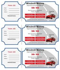large raffle ticket template 2 4 up cakes pinterest ticket