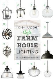 fixer upper style farmhouse lighting u2022 maison mass